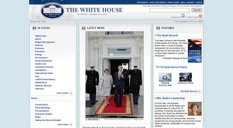 WhiteHouse.gov (Before)