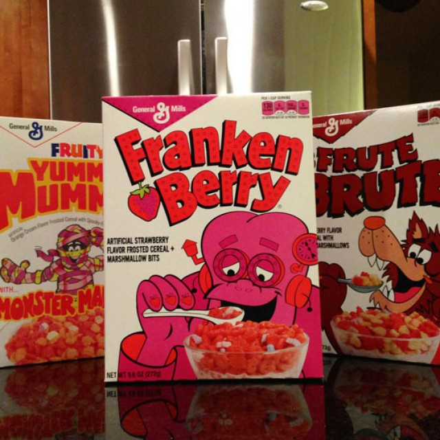 Retro-Boxed Monster Cereals Are Here!