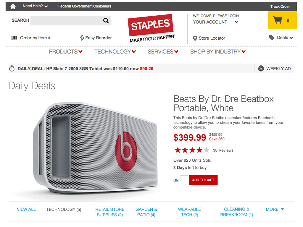 Staples® Daily Deals