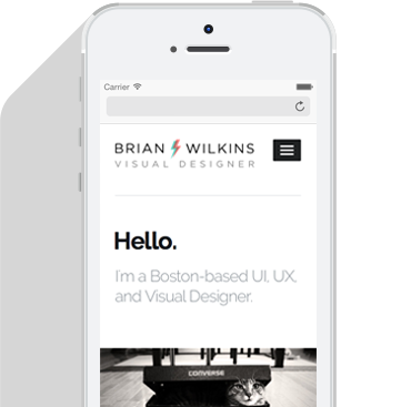 Brian Wilkins | Website & User Interface Designer