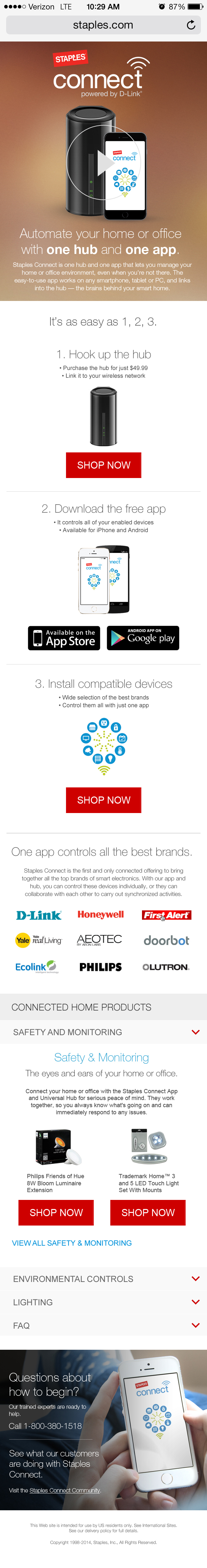 Staples Connect - Mobile
