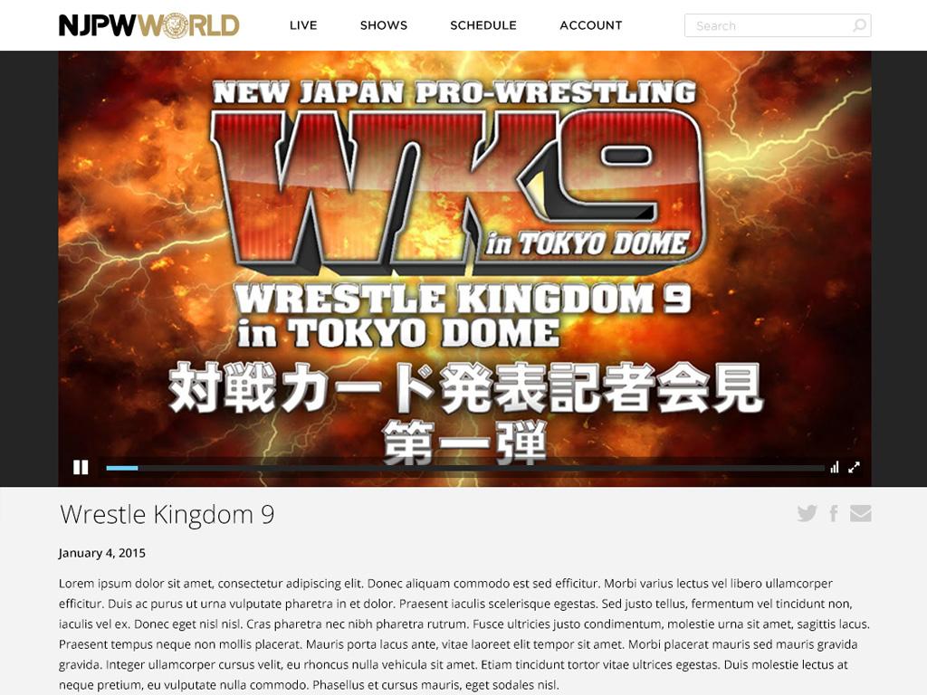 NJPW World