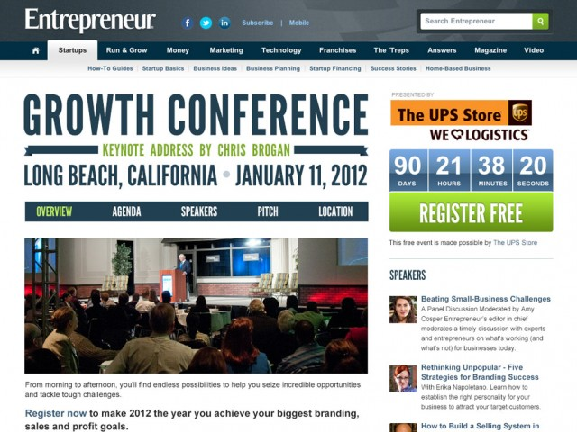 Growth Conference