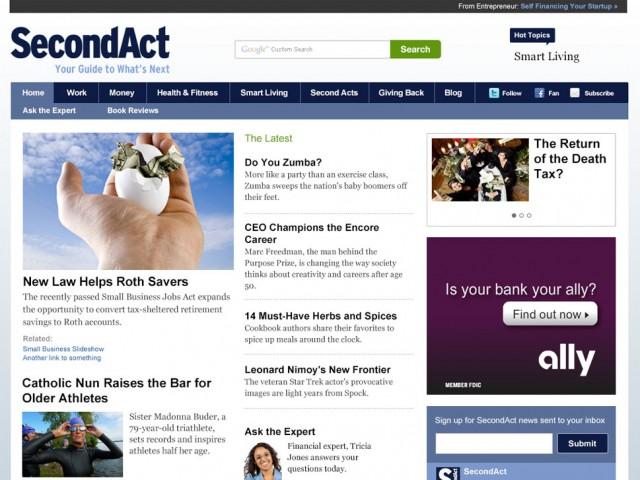 SecondAct.com