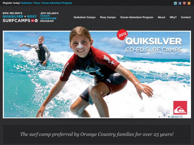 Quicksilver Surf Camps