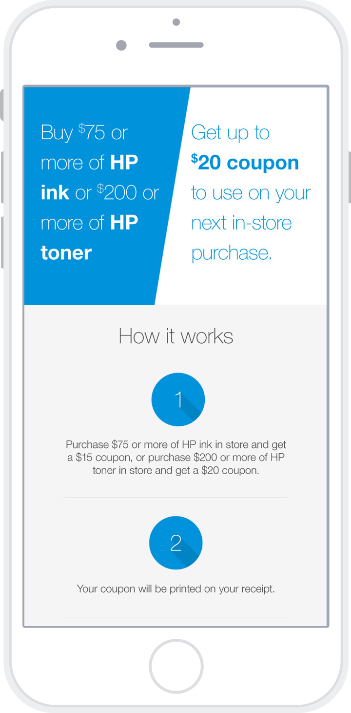 Staples HP Offer