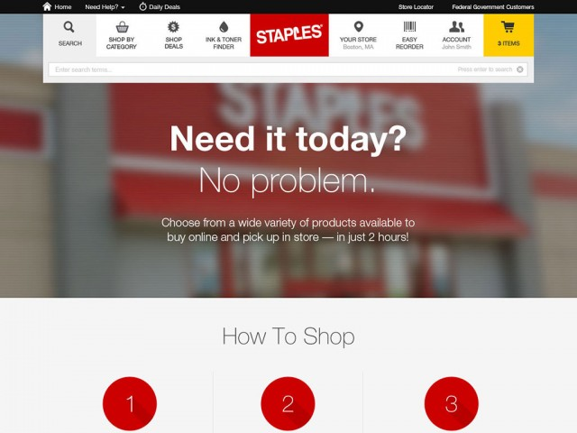 Staples | Buy Online and Pick Up In Store