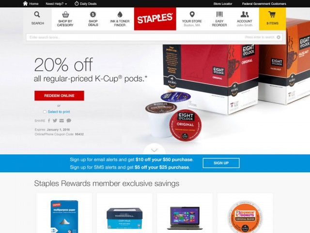 Staples | Coupons